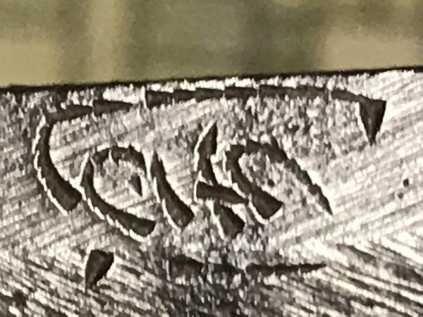 first symbol of signature